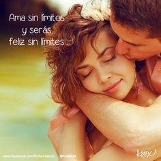 Ama sin límites y serás feliz sin límites. <3 #LOVE #KotexMemes #Frases