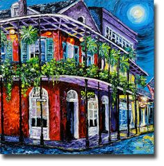New Orleans Art and Palette Beata Sasik Gallery New Orleans New Orleans Art, Street Painting, Cooler Painting, Magic Art, Painting Inspiration, Art Images, New Art, Art Decor, Abstract Art