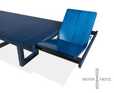 self-store extendable Venture table | Keith Fritz Fine Furniture
