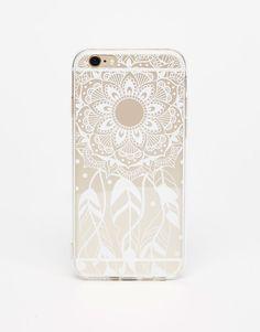 Pull&Bear - mujer - accesorios - últimas novedades - carcasa iphone atrapasueños - blanco - 09991304-I2017