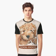 Long Day, Graphic Tee Shirts, Goldendoodle, My T Shirt, Top Artists, Female Models, Vivid Colors, Tired, Tank Man