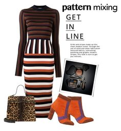 """Head to Toe pattern mixing....#trendy #patternmixing #style #polyvore"" by fashionlibra84 ❤ liked on Polyvore featuring Victoria Beckham, Zucca and Lipsy"