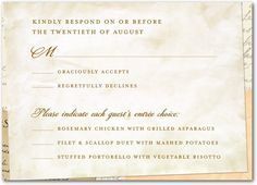 loving letters signature white wedding response cards in sienna brown or charcoal sarah hawkins designs