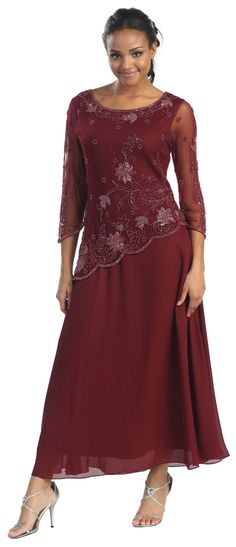 Fuller figure mother of the bride dress patterns free - Google Search