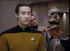 I need this reaction for everything. Star Trek Gif, Star Trek Data, Star Trek 1966, Star Wars, Star Trek Generations, Start Trek, Captain Janeway, Deep Space 9, Video Clips