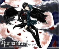 SebaCiel Kiss   Angels? - Sebastian x Ciel Phantomhive Photo (23851656) - Fanpop ...