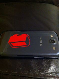 Customised phone via www.facebook.com/makeitdifferent2013