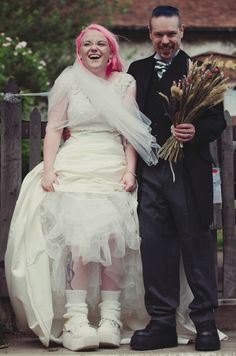 Especial Noivas   Noiva com Cabelo Rosa <3