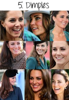 No. 5 Catherine & her cute dimples!