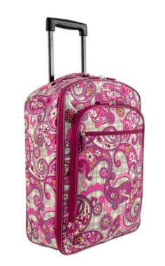 5c197b580b Vera Bradley 22   Rolling Carry On in Paisley Meets Plaid Vera Bradley  Patterns