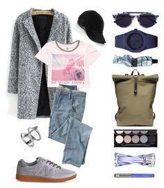 """Friday"" by teopintea ❤ liked on Polyvore featuring Vianel, New Balance, Billabong, Wrap, Thierry Lasry, CC, Aesop, Allurez, Witchery and Lancôme"