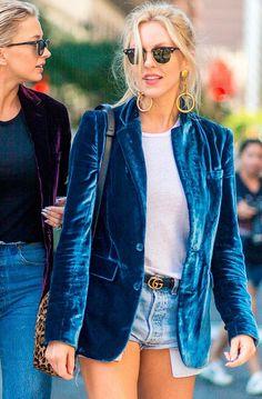 Velvet jacket trend | http://www.hercampus.com/school/chapman/top-10-style-trends-right-now