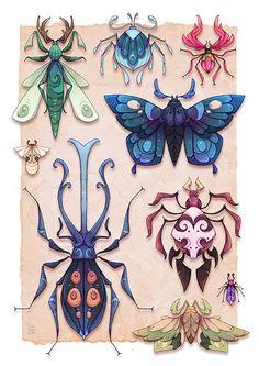 Otherworldy Entomology - Toby Allen