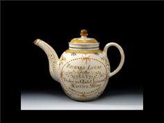 English Creamware Teapot