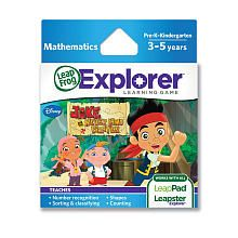 LeapFrog Explorer Learning Game - Jake and the Never Land Pirates