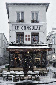 paris neige,  Montmartre
