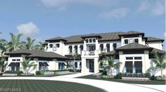 New Construction Custom Estate Home for Sale in Pine Ridge | Naples, Florida