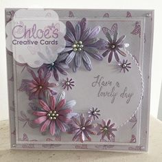 Shop here at Chloes Creative Cards for excellent value Cut and Emboss by Chloe Folder & Dies Blooming Daisies at just You will also find a selection of other wonderful here too. Mom Cards, Mothers Day Cards, Birthday Cards For Women, Handmade Birthday Cards, Chloes Creative Cards, Stamps By Chloe, Heartfelt Creations Cards, Engagement Cards, Embossed Cards