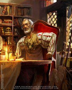 WARHAMMER RPG-Phillip Alder by ~nachomolina on deviantART