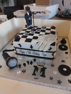 Michael Jackson birthday cake