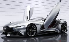 Infiniti Concept Vision GT Launches in Gran Turismo 6