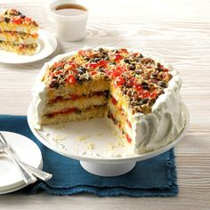 Southern Lane Cake (fruit cake with a twist) Baking Recipes, Cake Recipes, Dessert Recipes, Bolos Naked Cake, Grandma Cake, Lane Cake, Vintage Baking, Let Them Eat Cake, Cupcake Cakes