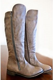 Cozy Cabin Boots-Taupe