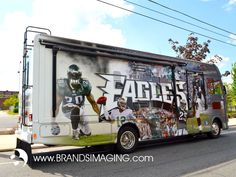 Eagle Mobile II - Vehicle Wrap Design and Installation by Brands Imaging