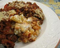 Delicious Ground Beef Sicilian Supper Casserole is Easy to Make: Sicilian Supper