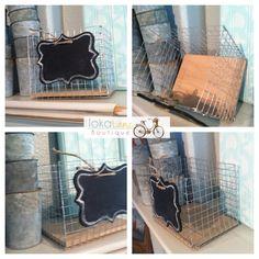 DIY Wire basket.