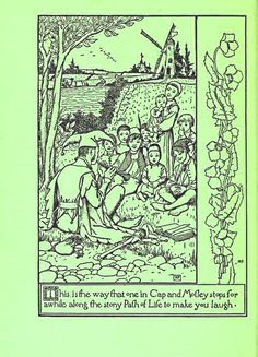 From the book : Pepper & salt, or Seasoning for young folk prepared by Howard Pyle Published 1885 by Harper and Brothers, printers and publishers in New York .  Stories and poems