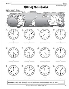 math worksheet : 1st grade math worksheets slide show  worksheets and activities  : Math Worksheets On Time