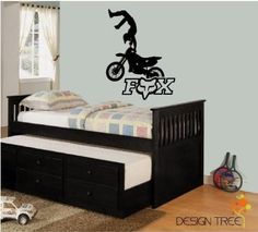 Amazon.com: Fox Racing Motorcross Dirt Bike Vinyl