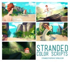 color script | Tumblr Animation Storyboard, Color Script, Visual Development, Colour Board, Film Stills, Color Inspiration, Light Colors, Concept Art, Character Design