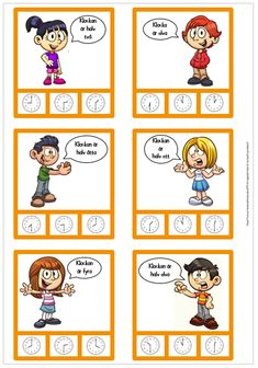 Free Teaching Resources, Teaching Kids, Learn To Tell Time, School Frame, Games, Gaming, Kids Learning