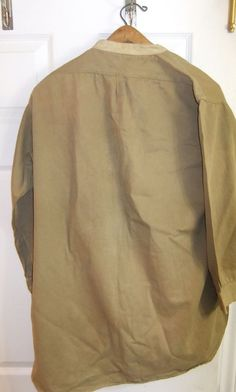 WW1 Officer'S Shirt With Collars AND TIE | eBay