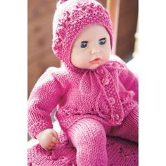 Pink+Doll+Set+-+Knitting+Pattern