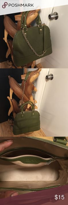 Epi Alma Inspired Satchel Beautiful light weight leather bag with two side pockets one with a zipper Bags Satchels
