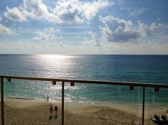 Now Jade Riviera Cancun Resort & Spa: sunrise from our suite!!
