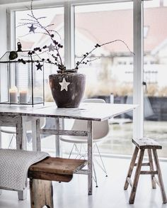 5 Scandi Christmas rooms we love on Instagram - Daily Dream Decor