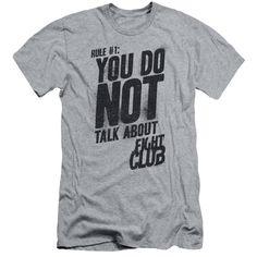 Fight Club/Rule 1