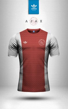 Adidas Originals and Nike Sportswear jersey design concepts using geometric patterns. New Football Shirts, Football Icon, Retro Football, Football Kits, Football Jerseys, Rugby Jersey Design, Jersey Designs, Camisa Retro, Soccer Poster