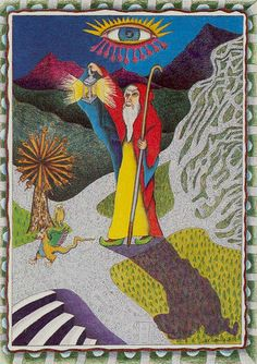 IX. The Hermit: The New Age Tarot