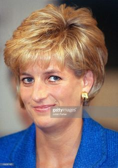 Diana, The Princess Of Wales, Attends The Pio Manzu Heath Conference, In Rimini, Italy.The Princess Was At The Conference To Receive A Humanitarian Award For Her Charity Work.