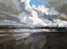 Instow (60 x 80 cm) oil on board