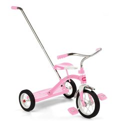 radio flyer classic pink tricycle with push handle Classic Pink Tricycle radio flyer classic pink tricycle with push handle radio flyer tricycle big wheels children trike pink radio flyer 4 in 1 stroll... Toddler Toys, Kids Toys, Toddler Girl, Pink Radio, Color Magenta, Radio Flyer, Future Baby, Baby Love, Cute Kids