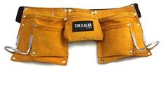 Child's Leather Tool Belt - Real Working Tool Belt - Not a Toy! - Perfect for Costume or Working around the House! - Brought to you by Avarsha.com