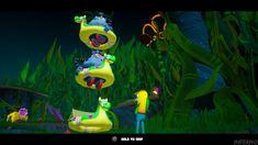 Kelp Forest, Video Game Characters, Spongebob, Bikini Bottoms, Battle, Christmas Ornaments, Holiday Decor, Videos, Bikinis