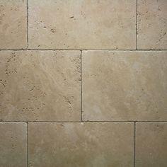 Travertin LIGHT antik getrommelt in 30,5x61x1,2 cm, Antik Marmor, Naturstein,