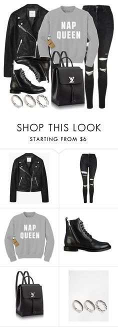 """Style #11688"" by vany-alvarado ❤ liked on Polyvore featuring MANGO, Topshop, Lazy Days, Yves Saint Laurent and ASOS"
